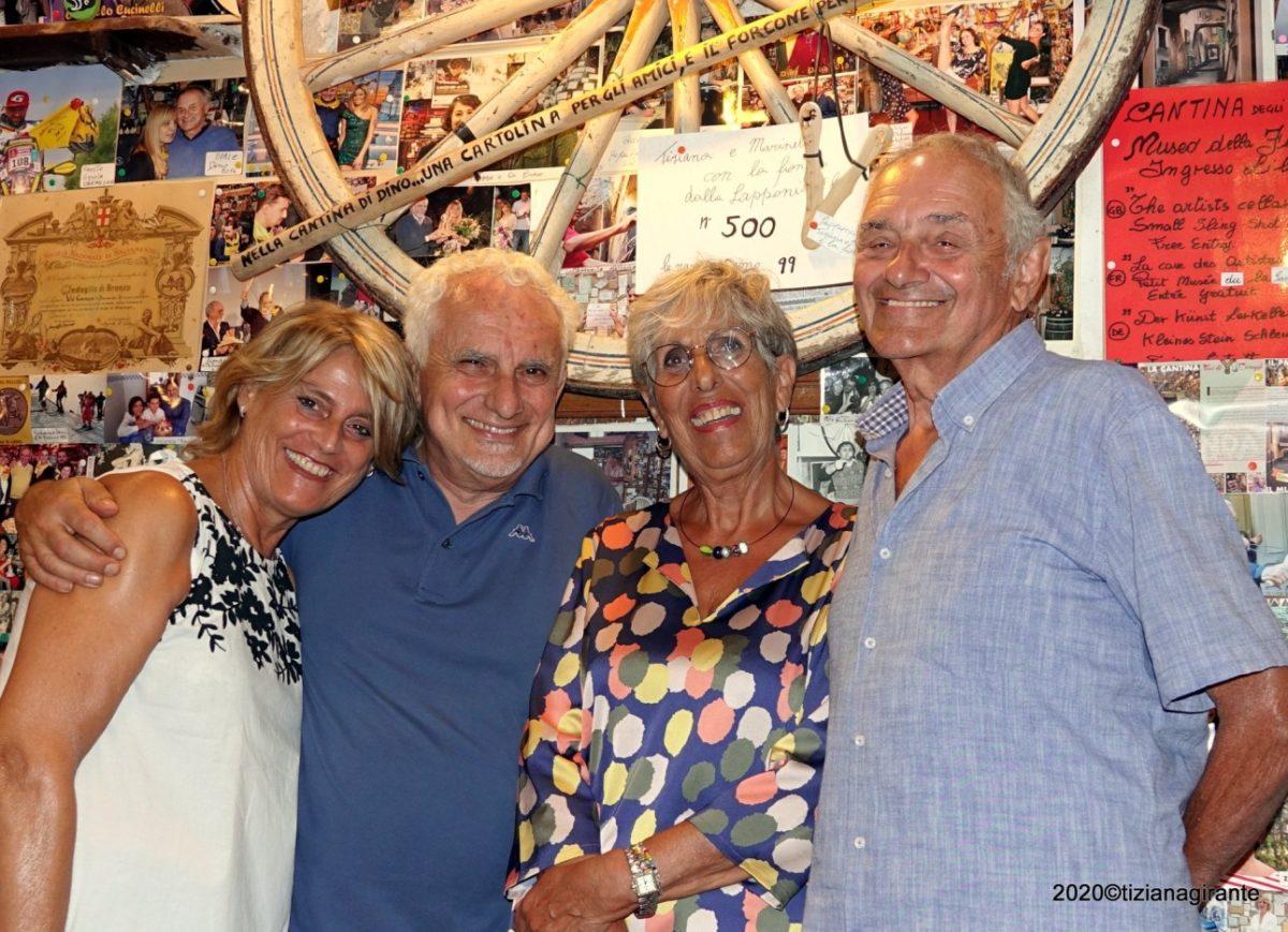 Albenga - Piccolo Museo della Fionda - consegna Fionda dalla Lapponia
