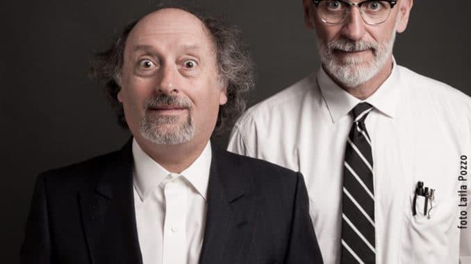 Antonio Cornacchione e Sergio Sgrilli