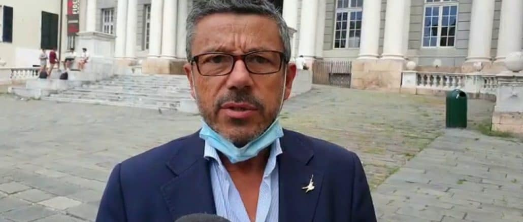 Brunello Brunetto candidato Lega Regione Liguria