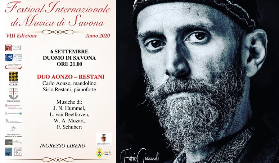 Carlo Aonzo - concerto a Savona