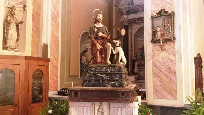 Ceriale - Statua San Rocco