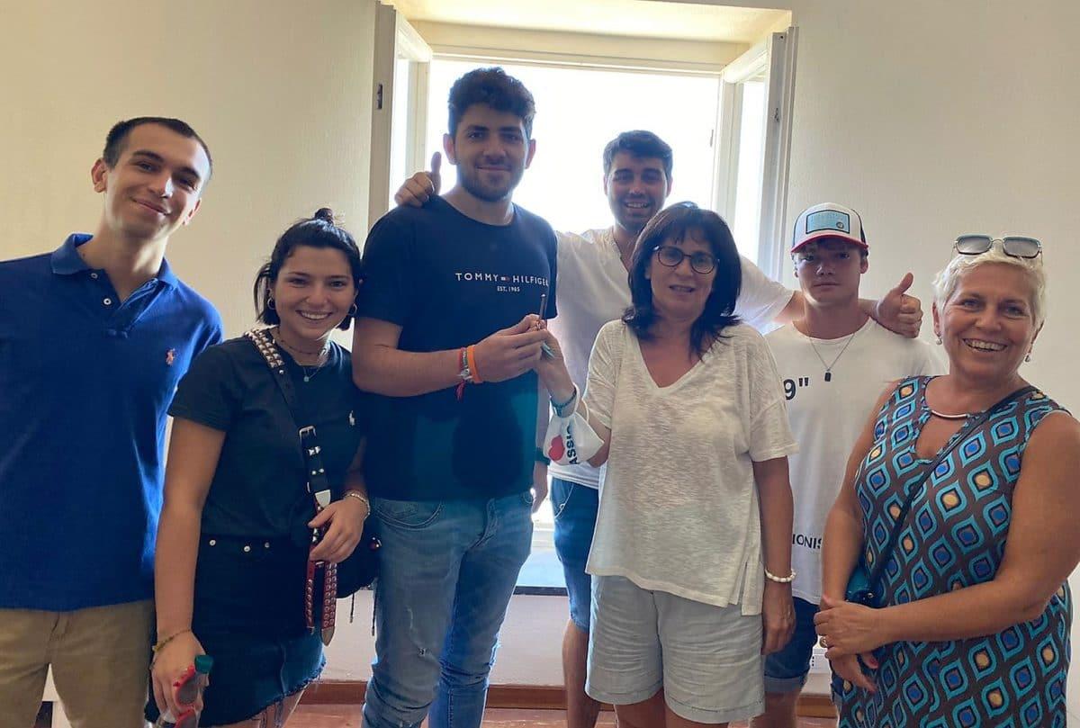 Consegna Chiavi ad AGA - Associazione giovani Alassio