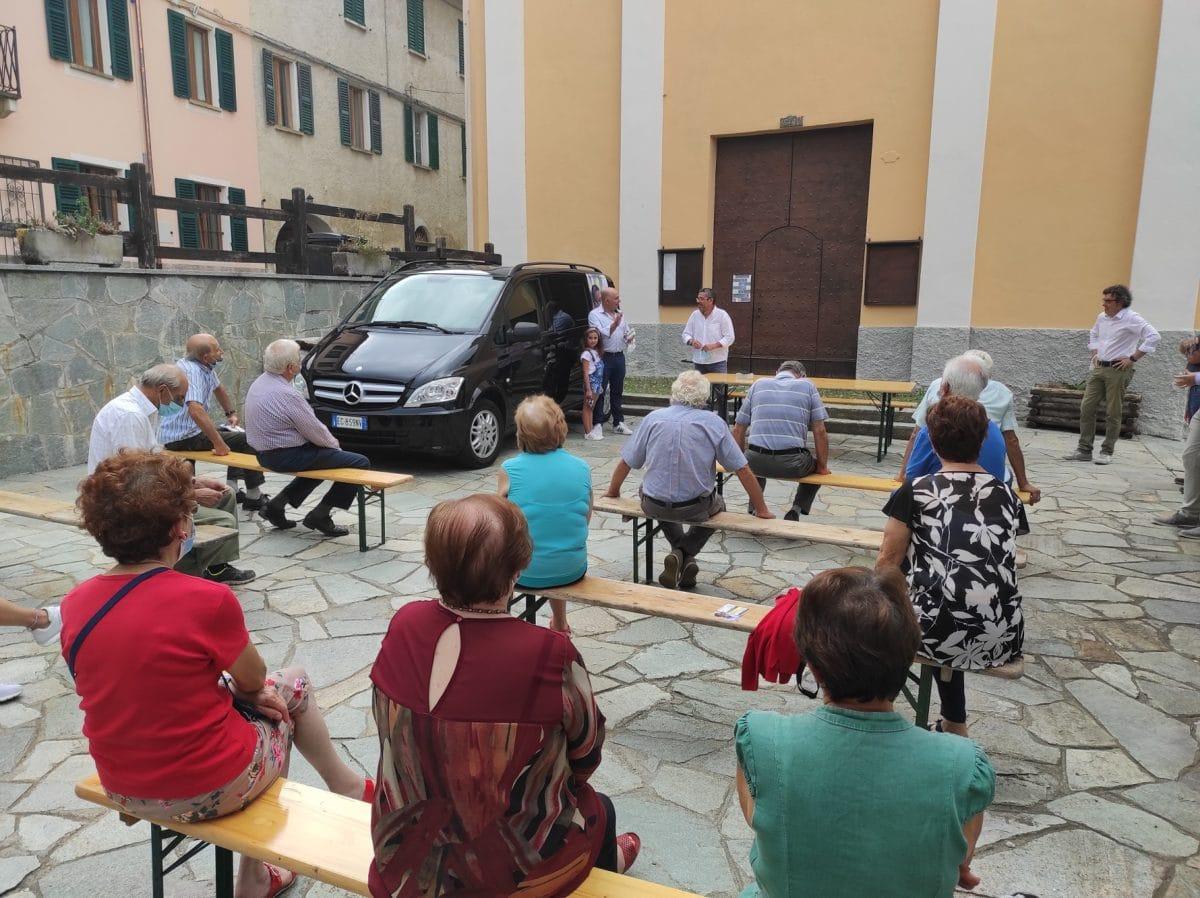 Elezioni Regione Liguria 2020 - Brunetto a Massimino