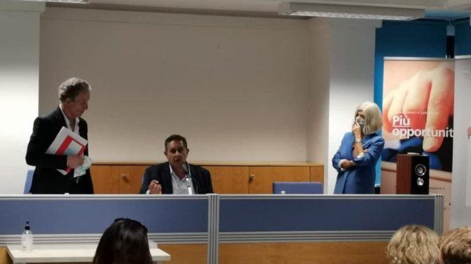 Elezioni Regione Liguria - Giovanni Toti e Lorenza Giudice