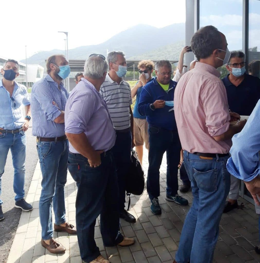 Elezioni Regione Liguria - Niero e Sansa Visita Piaggio