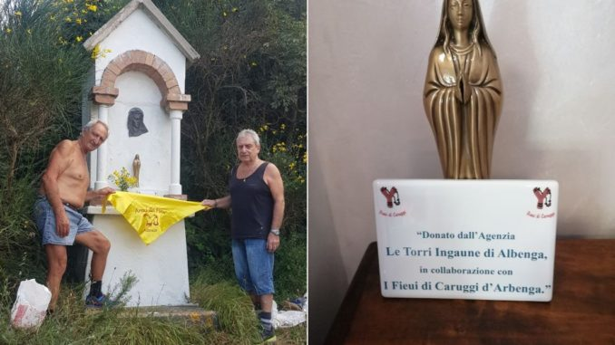 Fieui di Caruggi Albenga Alassio Madonnina Monte Bignone