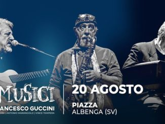 I musici di Francesco Guccini ad Albenga