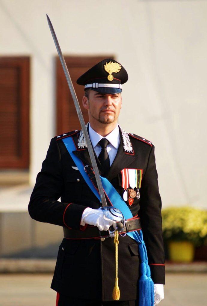 In Comune ad Albega - Tenente Iacopo Vittorio Rossi