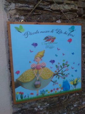 La targa ingresso del piccolo museo (Foto Daros)