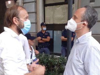Massimo Niero e Ferruccio Sansa s Savona