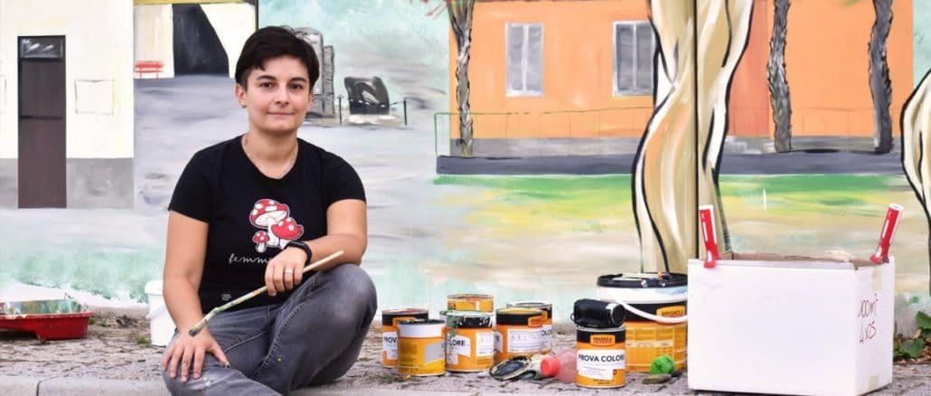 Murales Monica Porro Giusvalla