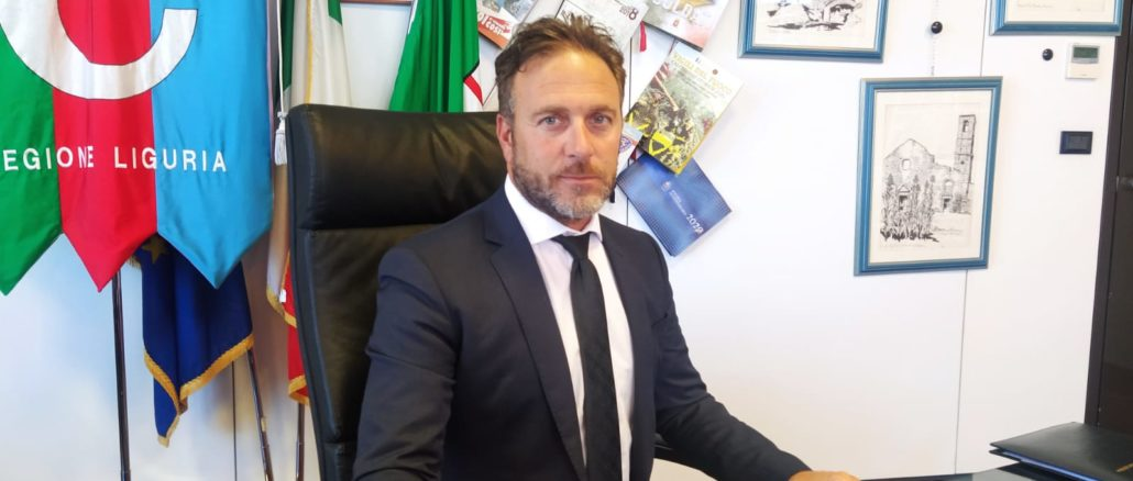 Presidente Consiglio Regione Liguria Alessandro Piana