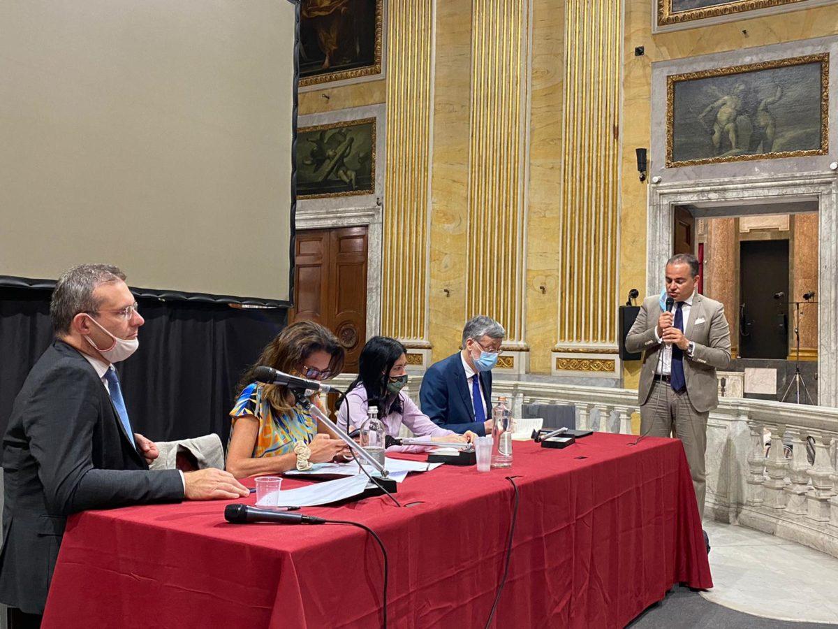 Presidente-Provincia-di-Savona-Olivieri-inontro-a-Genova-con-ministro-Azzolina
