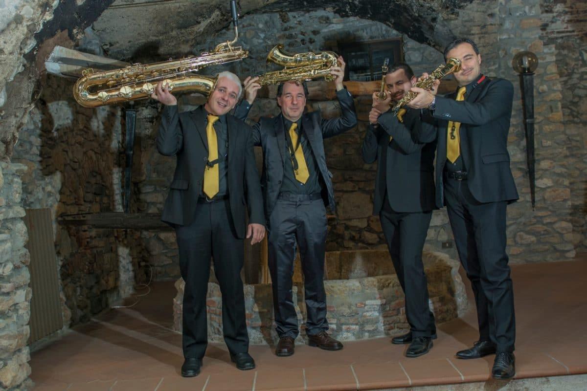 Quartetto Saxophobia