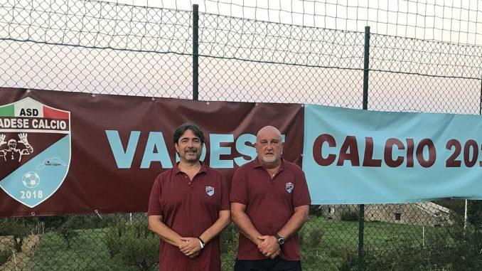 Sandro Corsino nello staff tecnico della Vadese Calcio