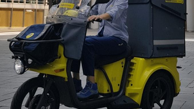 Triciclo elettrico poste italiane