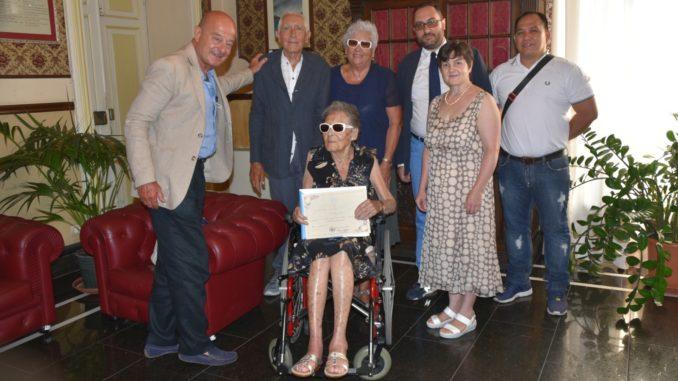 Turista fedele -Marisa Furno da 49 anni turista ad Alassio