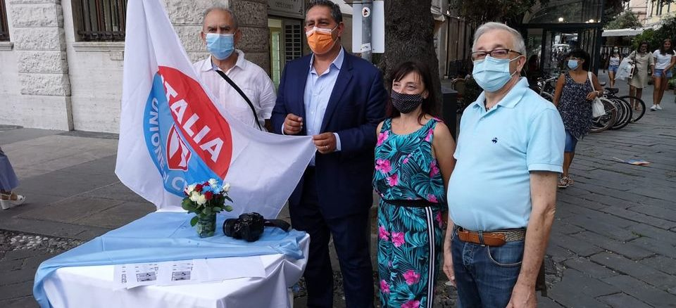 Udc Savona i candidati con Toti