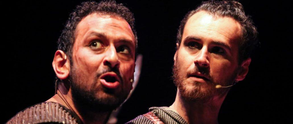 Ulisse - Luca Cicolella e Igor Chierici al Festival teatrale di Borgio Verezzi