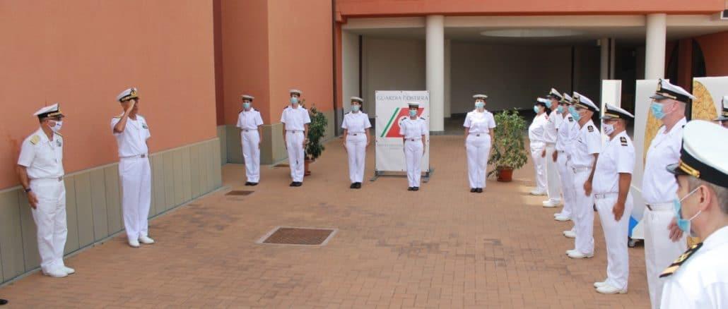 Visita del Comandante Generale del Corpo delle Capitanerie di Porto