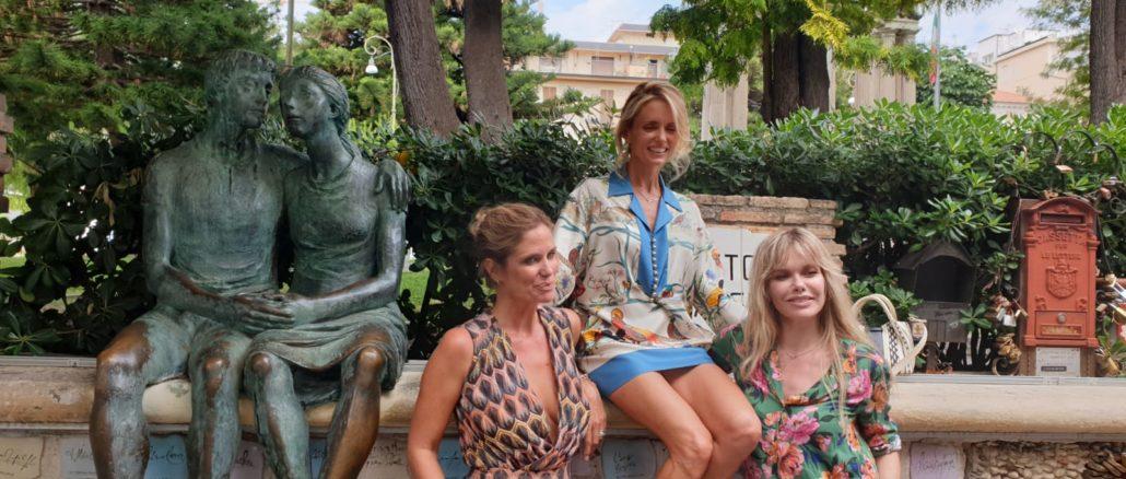 Alassio - Filippa, Justine e Barbara