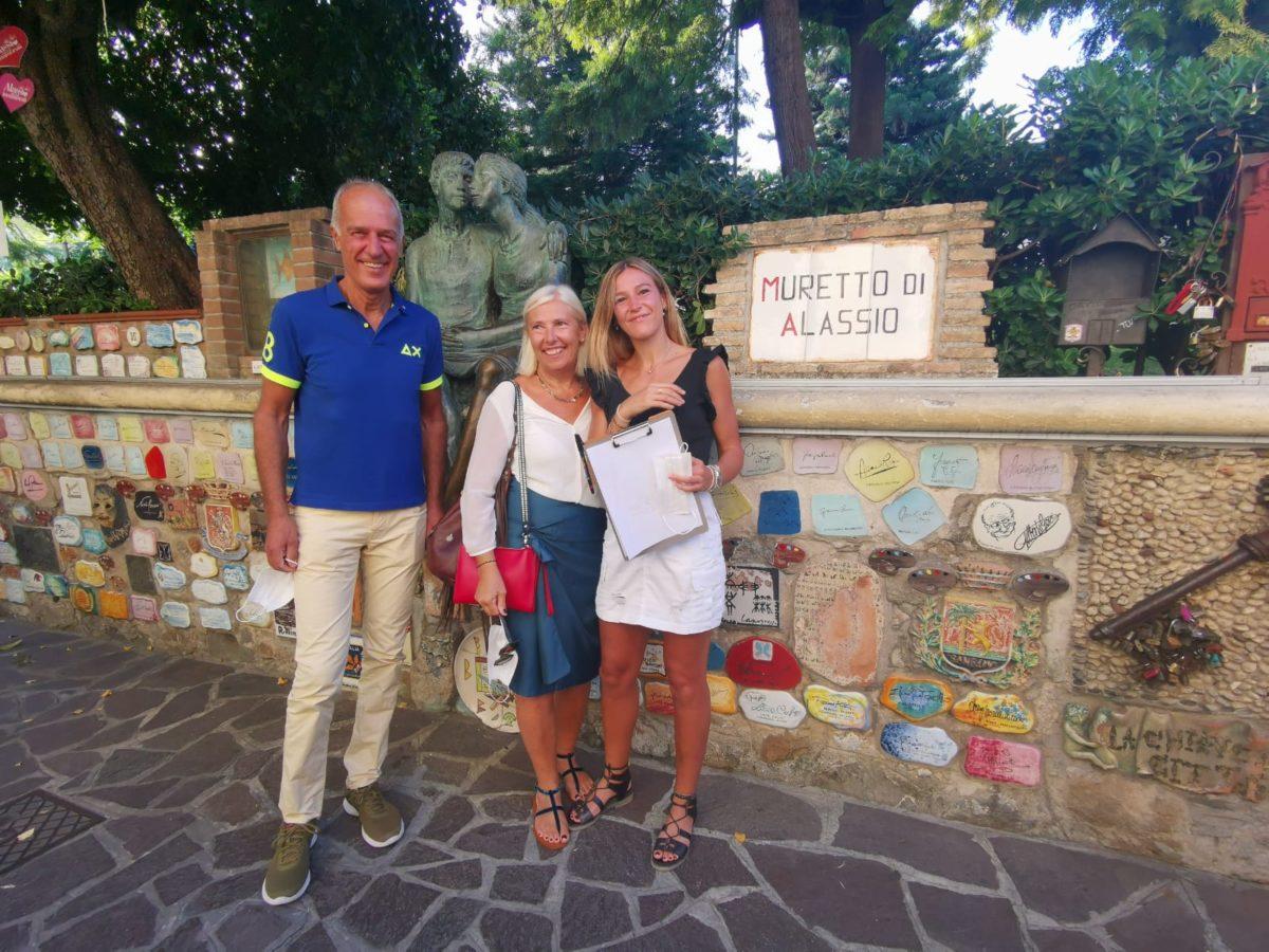 Alassio - Luminosa Bogliolo con mamma e papà