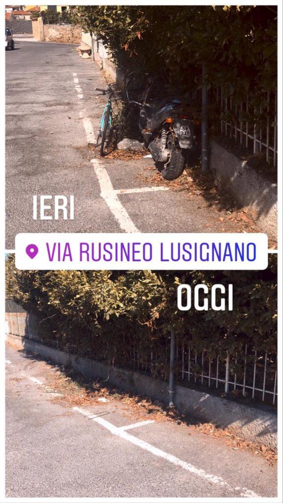 Albenga – rimozione veicoli abbandonati
