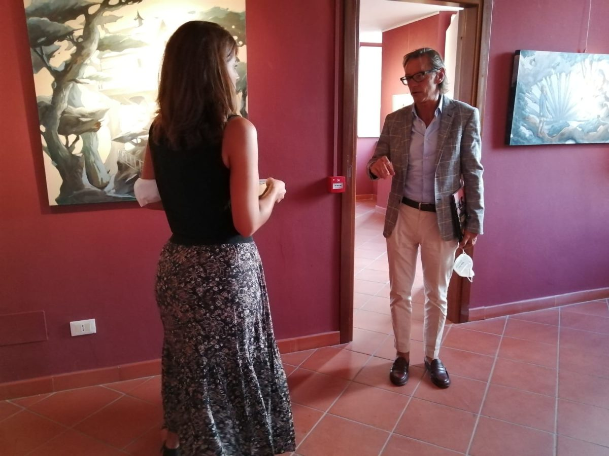 Albenga - Palazzo Oddo Mostra Alessandra Carloni