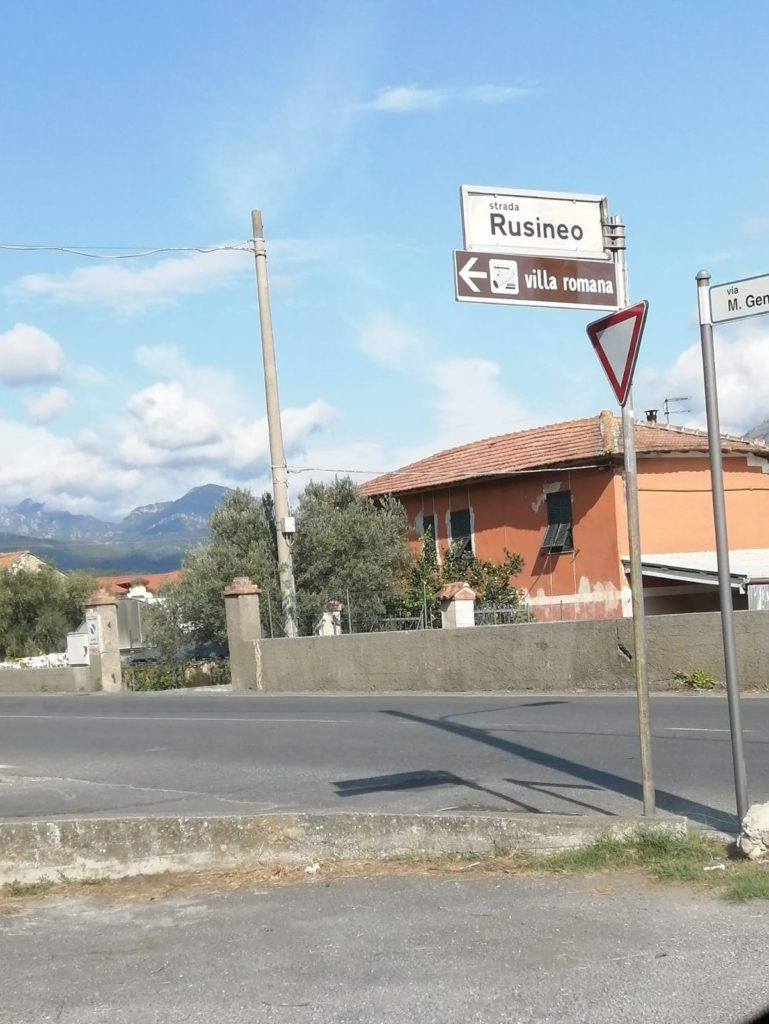 Albenga - Villa romana in frazione Lusignano