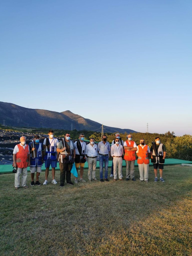 Albenga - finalisti trofeo tiro al volo