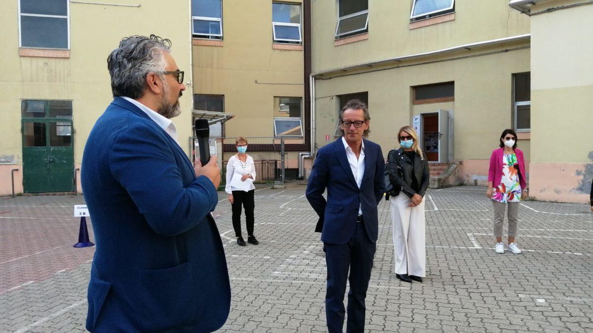 Albenga - inizio scuola paccini