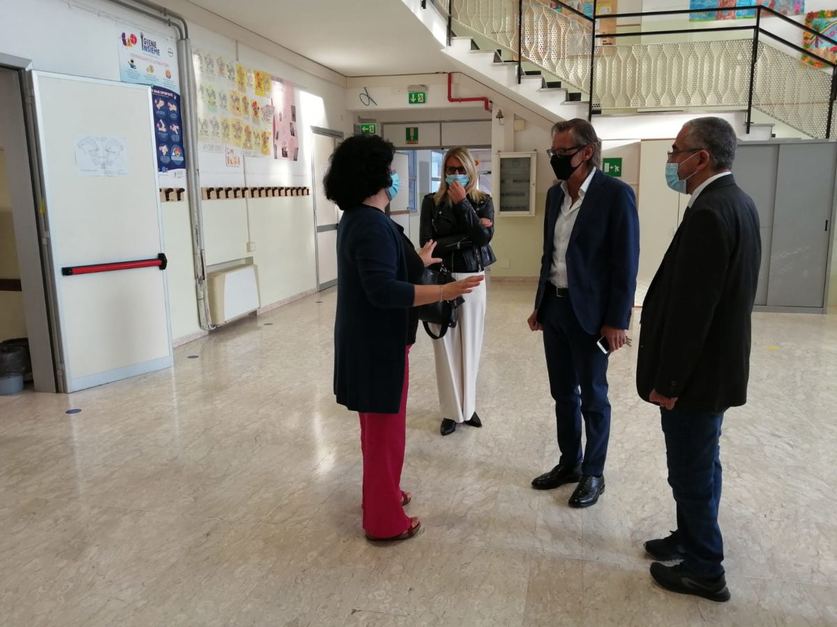 Albenga - inizio scuola via degli orti 2