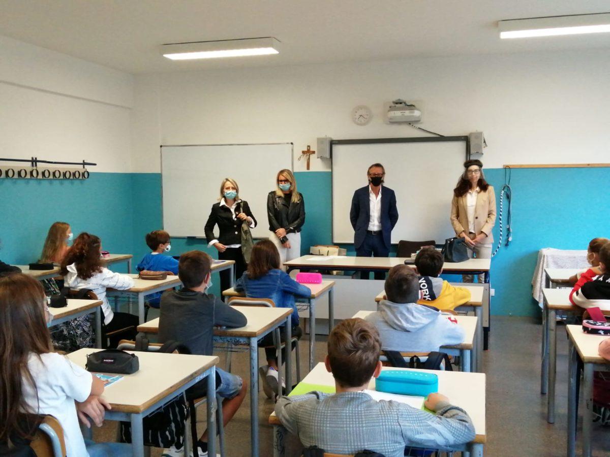 Albenga - inizio scuola via degli orti 3