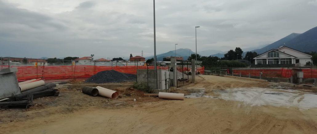 Albenga - lavori rio Fasceo