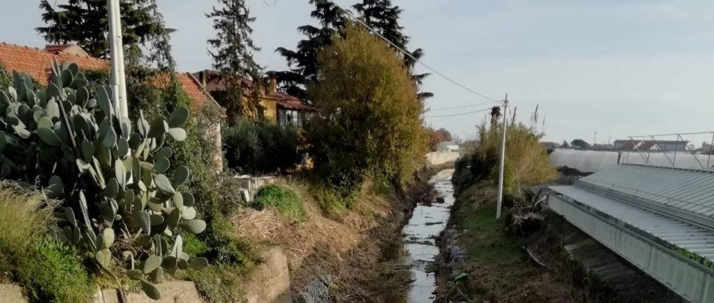 Albenga - pulizia rio Carenda