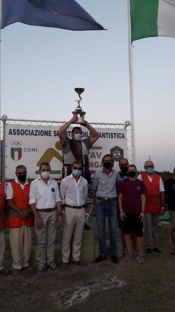 Albenga - vincitore trofeo tiro al volo