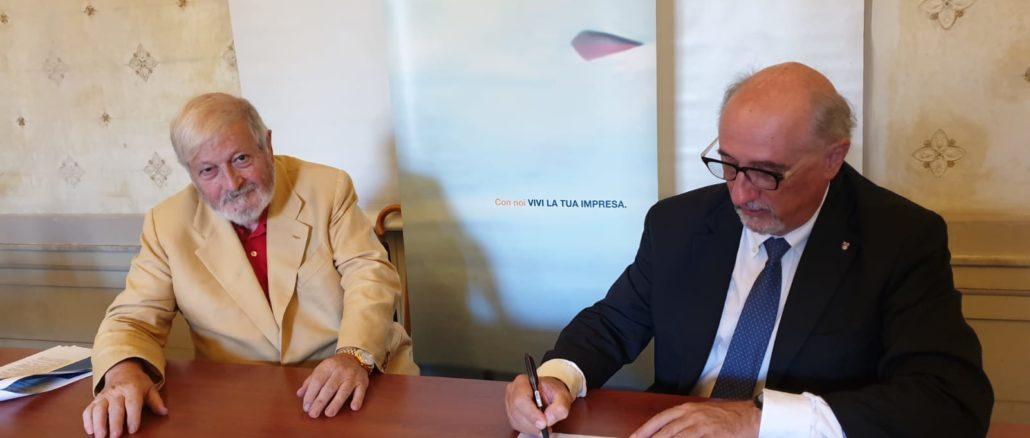 Aristide Massardo e Felice Negri presidente Confartigianato Genova