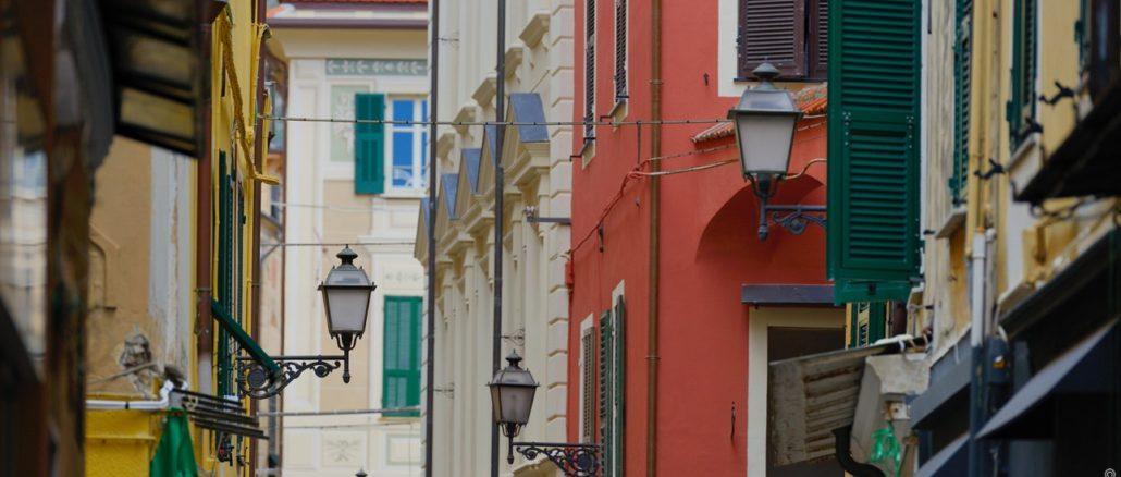 Budello di Alassio - centro storico