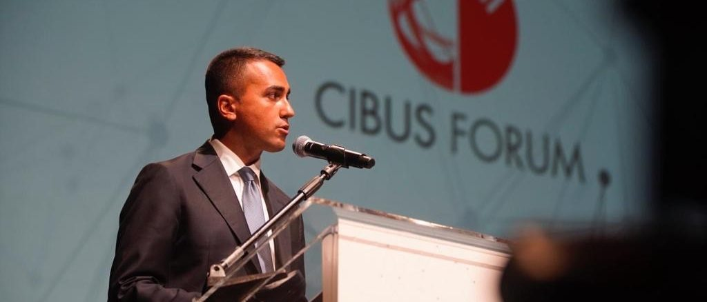 Cibus forum a Parma - Ministro di Maio