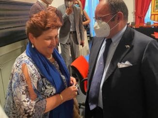 Confagricoltura Liguria - Teresa Bellanova e Luca De Michelis ad Albenga