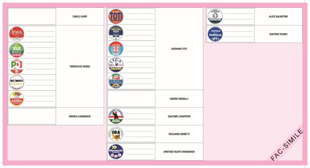 Elezioni Regione Liguria-circoscrizione_Savona- fac-simile_scheda 02