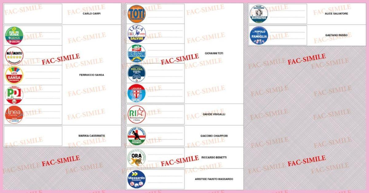 Elezioni Regione Liguria-circoscrizione_Spezia- fac-simile_scheda 02