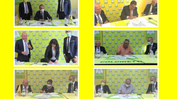 Elezioni Regione Liguria - foto incontro Coldiretti con i candidati