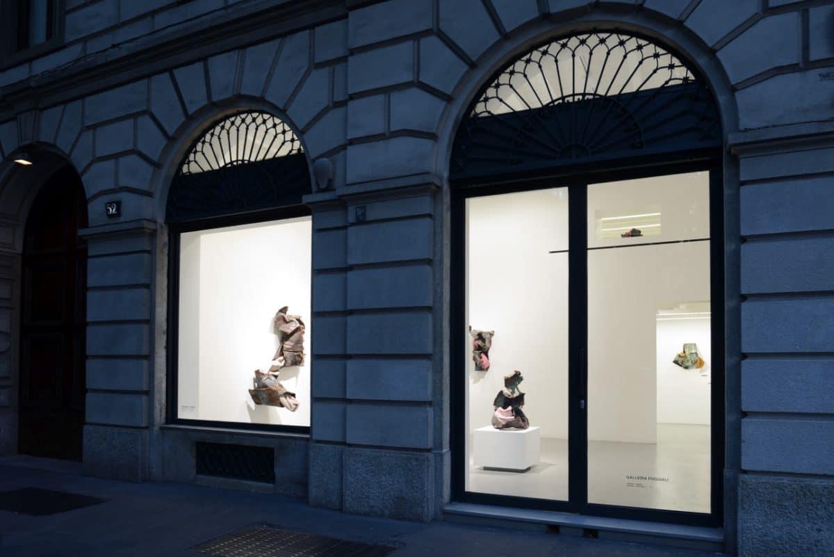 Kennedy Yanko – Mostra Galleria Poggiali - Photo Michele Sereni