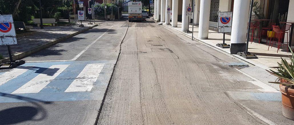 Lavori interventi asfalti Albenga