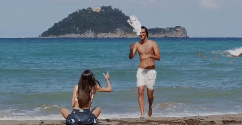 Liguria Terragir3 - frame con Isola Gallinara di Albenga