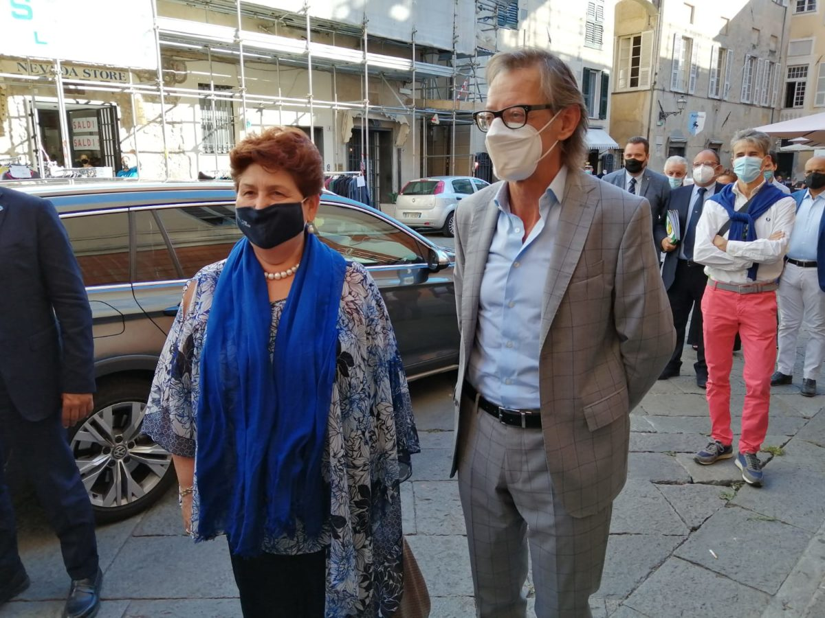 Ministro Teresa Bellanova ad Albenga