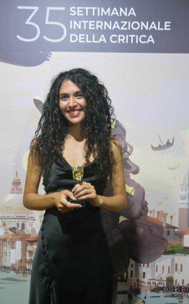 Olga Torrico premiata a Venezia
