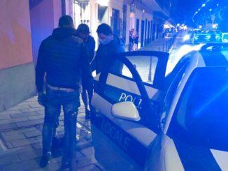 Polizia locale Arresto Spaccio a Loano