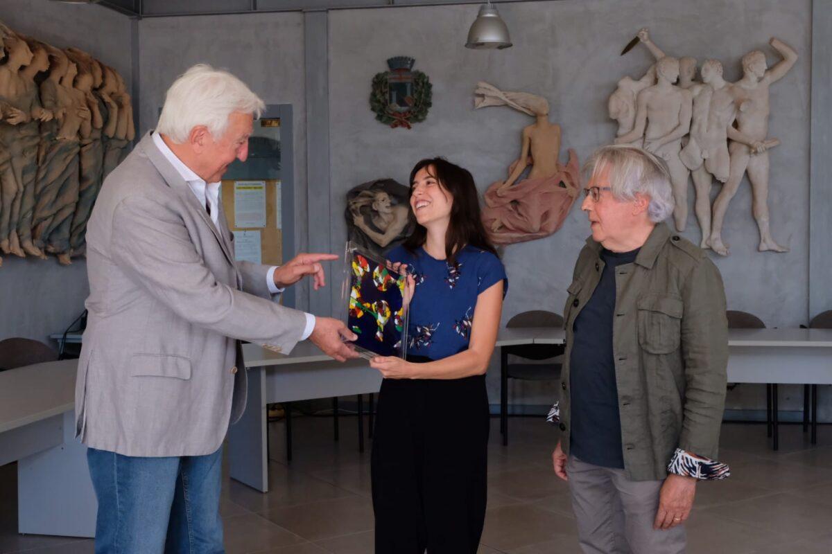 Renato Dacquino, Marta Zito e Stefano Delfino